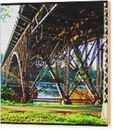 Strawberry Hill Bridge Wood Print