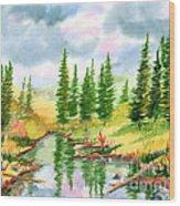 Strawberry Reservoir 2 Wood Print