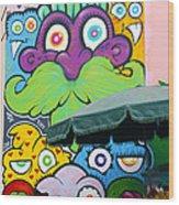 Street Art Lima Peru 2 Wood Print