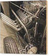 Street Car Racer Wood Print