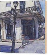 Street Corner 214 Wood Print by John Boles