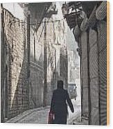Street In Aleppo Syria Wood Print