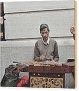 Street Jams Chinatown New York City Wood Print