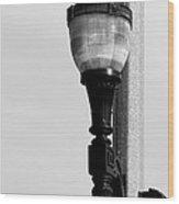 Street Lamp In Bonners Ferry Idaho Wood Print