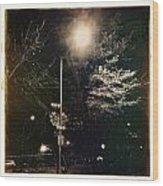 Street Light Wood Print
