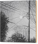 Street Light Wood Print
