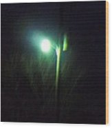 Street Light Wood Print by Rosalie Klidies