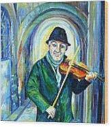 Italian Street Music. Part Two Wood Print