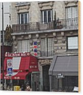 Street Scenes - Paris France - 011352 Wood Print by DC Photographer