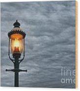 Streetlight Wood Print