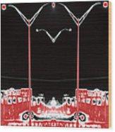 Streetlight Serenade 3 Wood Print by Wendy J St Christopher