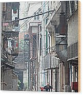 Streets Of China Wood Print