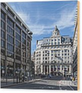 Streets Of London Wood Print