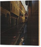 Streets Of Milano - Italy Wood Print
