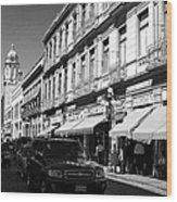 Streets Of Puebla 9 Wood Print