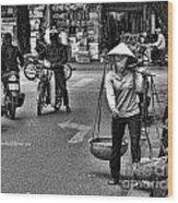 Streets Of Saigon Wood Print