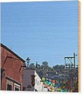 Streets Of San Miguel De Allende 2 Wood Print