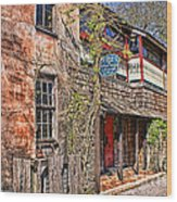 Streets Of St Augustine Florida Wood Print
