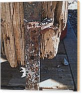 Streets Of Tombstone 14 Wood Print