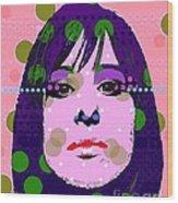 Streisand Wood Print by Ricky Sencion
