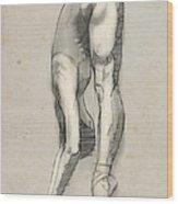 Stretch En Pointe Wood Print