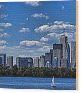 Striking Toronto Skyline Wood Print