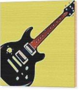 Strings Of Rock Wood Print
