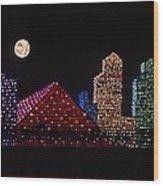 Strip Series - City Wood Print