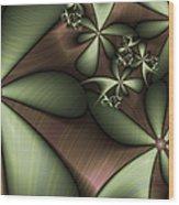 Striped 2 Wood Print