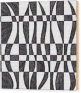 Striped Wood Print