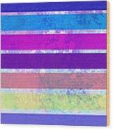 Stripes Abstract Art Wood Print