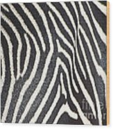 Stripes And Ripples Wood Print