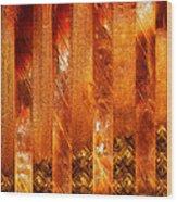 Stripes Forming Wood Print