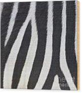 Stripes On Zebra Wood Print