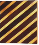 Stripes With Style Wood Print