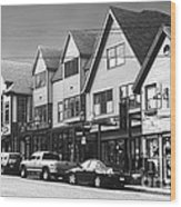 Strolling The Streets Of Bar Harbor Wood Print