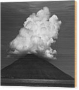 Stromboli Eruption Wood Print