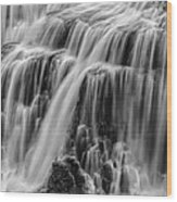 Strong Waters Wood Print