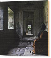 Structures Cambodia Siem Reap 03 Wood Print