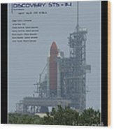 Sts-114 Discovery Wood Print