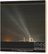 Sts-116 Discovery Wood Print