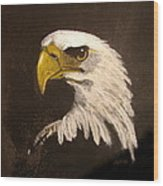 Stuarts Eagle Wood Print