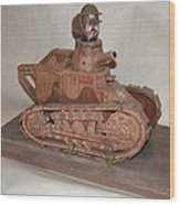 Stubby's Tank Wood Print