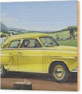 Studebaker Champion Antique Americana Nostagic Rustic Rural Farm Country Auto Car Painting Wood Print