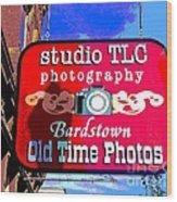 Studio Tlc In Bardstown Kentucky Wood Print