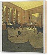 Study, From Repertoire Of Modern Taste Wood Print