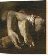 Study Of Feet And Hands, C.1818-19 Oil On Canvas Wood Print