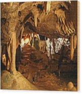 Stump Cross Caverns 2 Wood Print