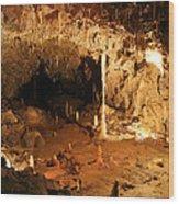 Stump Cross Caverns Wood Print
