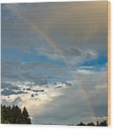 Stunning Rainbow Wood Print